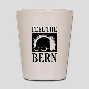 Feel the Bern [Hair] Shot Glass